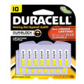 DURACELL® HEARING AID BATTERY Battery, Zinc Air, Size 10, 16/pk, 6 pk/cs (UPC# 66119) (SPEICAL OFFER!! SEE BELOW!!)$123.36/CASE