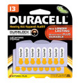 DURACELL® HEARING AID BATTERY Battery, Zinc Air, Size 13, 16/pk, 6 pk/cs (UPC# 66122) (SPEICAL OFFER!! SEE BELOW!!)$123.36/CASE