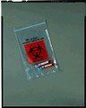 "MEDEGEN LAB SAFE™ LABORATORY SPECIMEN COLLECTION BAGS Collection Bag, 6"" x 6"", Zip Closure, Biohazard Black/ Red Print, 1000/cs (SPEICAL OFFER!! SEE BELOW!!)$128.36/CASE"