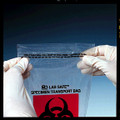 """MEDEGEN LAB SAFE™ LABORATORY SPECIMEN COLLECTION BAGS Collection Bag, 6"""" x 9"""", Reclosable Adhesive Closure, Biohazard Black/ Red Print, 1000/cs (SPEICAL OFFER!! SEE BELOW!!)$114.18/CASE"""
