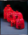 """MEDEGEN SAF-T-SEAL® WASTE INFECTIOUS BAGS Infectious Bag, 24"""" x 32"""", 11 microns, 500/cs (SPEICAL OFFER!! SEE BELOW!!)$99.07/CASE"""