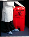 """MEDEGEN SURE-SEAL™ INFECTIOUS WASTE BAGS Infectious Waste Bag, 24"""" x 24"""", 1.2 mil, 12-16 gal, 150/rl/cs (SPEICAL OFFER!! SEE BELOW!!)$79.26/CASE"""