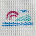 "GRAHAM MEDICAL DISPOSABLE TOWELS Seascape® Towel, 13½"" x 18"", 3-Ply, 500/cs SPECIAL OFFER! SEE BELOW!! $K2/CASE"