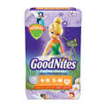 KIMBERLY-CLARK GOODNITES® UNDERPANTS Jumbo Underpants, Girl, Small/ Medium, 15/pk, 4 pk/cs (To Be DISCONTINUED) SPECIAL OFFER! SEE BELOW!! $K2/CASE