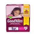 KIMBERLY-CLARK GOODNITES® UNDERPANTS Mega Pack Underpants, Girls, Large/ X-Large, 27/pk, 3 pk/cs (To Be DISCONTINUED) SPECIAL OFFER! SEE BELOW!! $K2/CASE