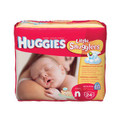 KIMBERLY-CLARK HUGGIES® DISPOSABLE DIAPERS Newborn Diapers, up to 10 lbs, 24/pk, 12 pk/cs SPECIAL OFFER! SEE BELOW!! $K2/CASE
