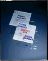 "MEDEGEN PATIENT PERSONAL BELONGINGS BAGS Personal Belongings Bag, 20"" x 20"" x 4"", Clear, Standard Duty, Cotton Drawstring, 250/cs SPECIAL OFFER! SEE BELOW!! $K2/CASE"