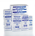 """AMD MEDICOM ALL GAUZE SPONGES - NON STERILE Sponge, 3"""" x 3"""", 12-Ply, 200/sleeve, 20 sleeve/cs (Not Available for sale into Canada) SPECIAL OFFER! SEE BELOW!$119.2/SALE"""