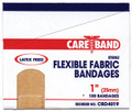 """ASO CAREBAND™ FABRIC ADHESIVE STRIP BANDAGES Fabric Strip Bandage, 1"""" x 3"""", Latex Free (LF), 100/bx, 12 bx/cs SPECIAL OFFER! SEE BELOW!$80.64/SALE"""