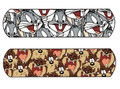 """NUTRAMAX CHILDREN'S CHARACTER ADHESIVE BANDAGES Looney Tunes™ Bugs Bunny & Tasmanian Devil Adhesive Bandage, ¾"""" x 3"""". 100/bx, 12 bx/cs SPECIAL OFFER! SEE BELOW!$104.52/SALE"""