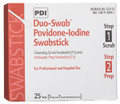 PDI PVP IODINE SWABSTICK Duo-Swabs®, 1 PVP Iodine Scrub & 1 PVP Iodine Prep Swab in a Connected Packet, 2/pk, 25 pk/bx, 10 bx/cs SPECIAL OFFER! SEE BELOW!$131.3/SALE