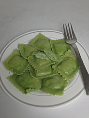 3 Cheese Spinach Ravioli