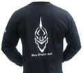 Sea Angler Gear Black Classic Skull Shirt