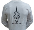 Sea Angler Gear White Classic Skull Shirt