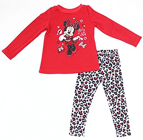 731ed4fee5c88 Minnie Mouse 'Girly Girl' Sweater and Leggings Set