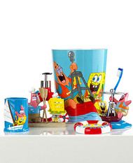 "SpongeBob Square Pants ""Set Sail"" Plastic Wastebasket"