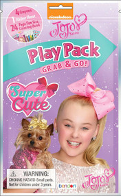 JoJo Siwa 24-Page Coloring Play Pack