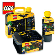 LEGO Batman Lunch Set Black
