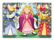 Princess Dress-Up Wooden Peg Puzzle