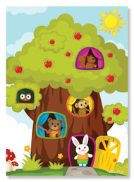 Treehouse Animal Friends Puzzle