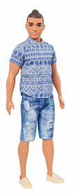 Fashionistas Distressed Denim Doll, Broad