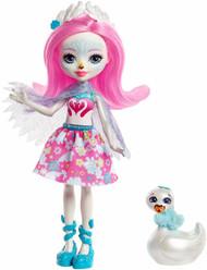 Enchantimals Saffi Swan Doll & Poise Figure