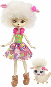Enchantimals Lorna Lamb Doll & Flag