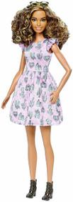 Barbie Fashionistas 67 Cactus Print Dress Doll