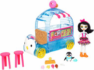 Enchantimals Preena Penguin Doll & Ice Cream Playset