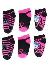 Hello Kitty Socks  - No Show Girls Socks - Size 5-6