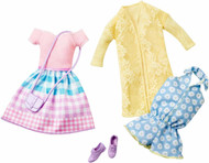 Barbie Fashion Pack 2-Pack, Somewhere Over the Gingham Rainbow