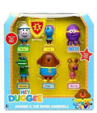 Hey Duggee figure set - Duggee blue shirt