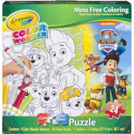 Paw Patrol Color Wonder Puzzle (24 Piece)