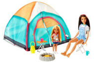 Barbie Camping Fun Skipper and Chelsea Playset