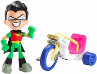 Teen Titans Go Robin & Time Cycle Figure & Vehicle
