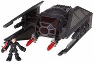 Star Wars Galactic Heroes Kylo Ren & Tie Silencer Vehicle