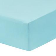 Everyday Kids Fitted Crib Sheet - Aqua