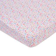 Gerber Baby Girl Crib Sheet - Floral Print
