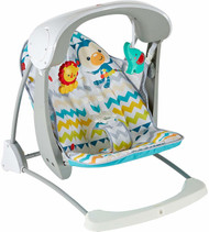 Fisher-Price Colourful Carnival Take-Along Swing & Seat