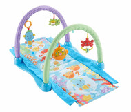 Fisher-Price Kick & Crawl Musical Seahorse Gym