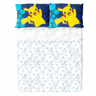 Pokemon Twin Sheet Set in Fabric Bag