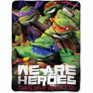 "Nickelodeon's TMNT 46"" x 60"" Micro Raschel Throw"