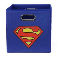 Superman - Folding Storage Bin for Toys - Bedroom Organizer