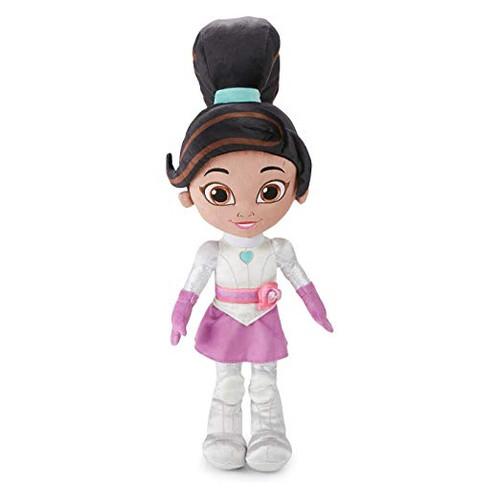 9 Cube Kids Pink White Toy Games Storage Unit Girls Boys: Nella The Princess Knight Knight Cuddle Pillow, White/Pink