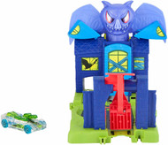 Hot Wheels City Bat Manor Attack Playset