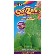 It's Amazing Cra-Z-Sand 1.5 lb Box of Sandtastic Sand, Green Cra Z Art