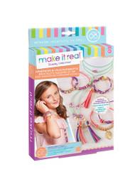 Make It Real – Gold Link Suede Bracelets