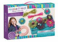 Make It Real – Raffia Flower Clutch