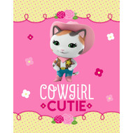 Disney Junior Sheriff Callie (Cowgirl Cutie) Silky Soft Throw