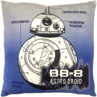 Star Wars BB-8 Astro Droid Throw Pillow